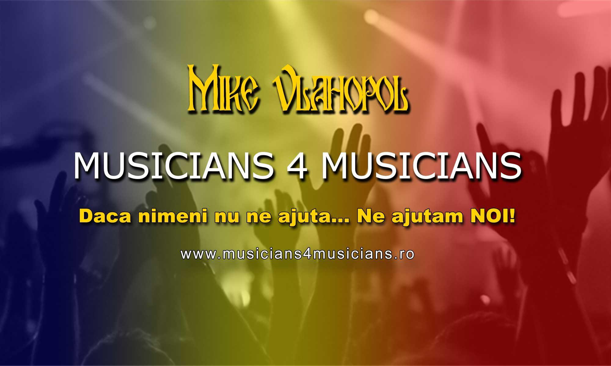 Mike Vlahopol - Musicians 4 Musicians